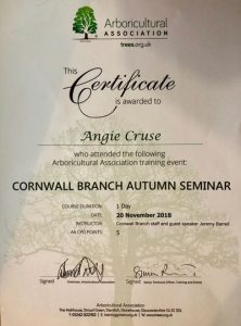 arb association certificate